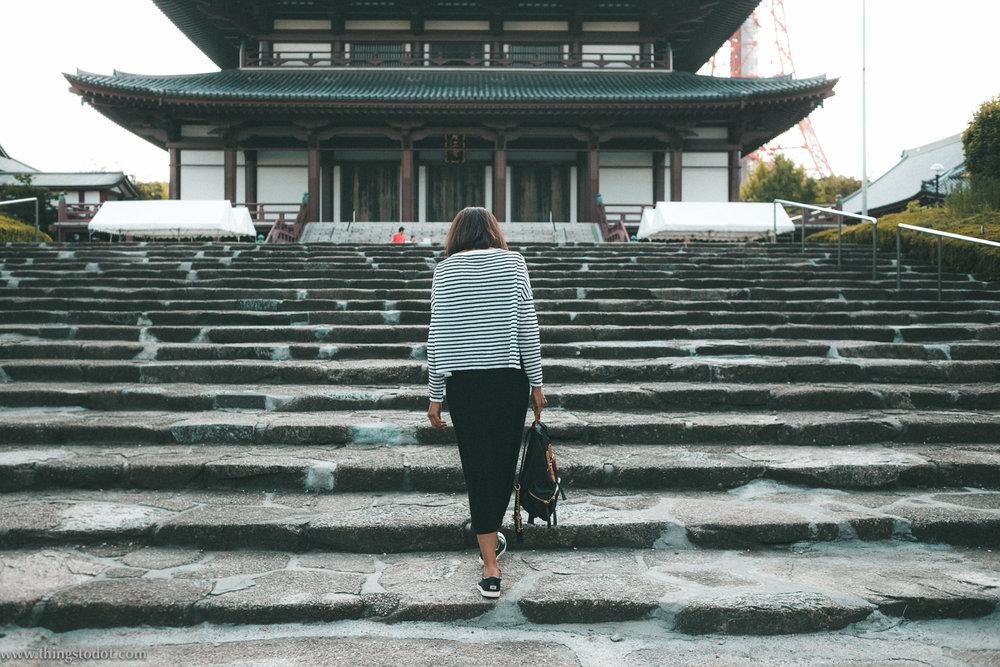 Zozo-ji temple,Diamon & Tokyo Tower, Tokyo, Japan. Image©www.thingstodot.com.