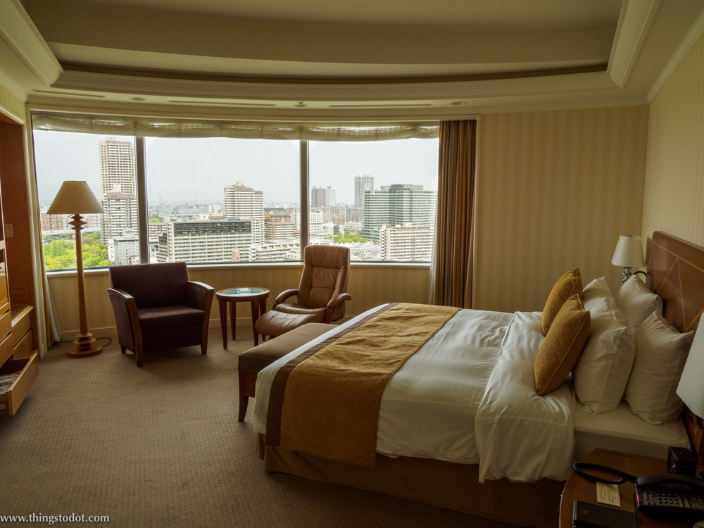 Park Suite, Imperial Hotel, Osaka, Japan. Photo: Gunjan Virk. Image©www.thingstodot.com.