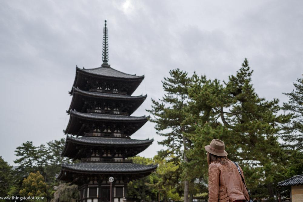 Kofuku-ji, Nara, Japan. Photo: Kosuke Arakawa (www.kosukearakawa.com). Image©www.thingstodot.com.
