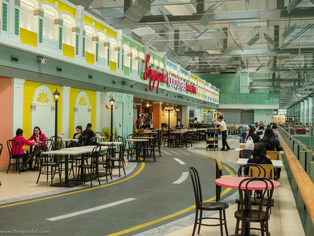 Street Food,Singapore Changi Airport, Singapore. Image©thingstodot.com