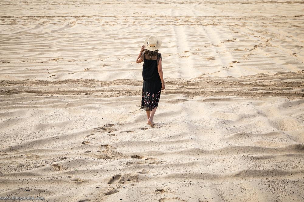 Redhead beach sand dunes, New South Wales, Australia. Image©www.thingstodot.com. Photo: Alyssa Salamon.