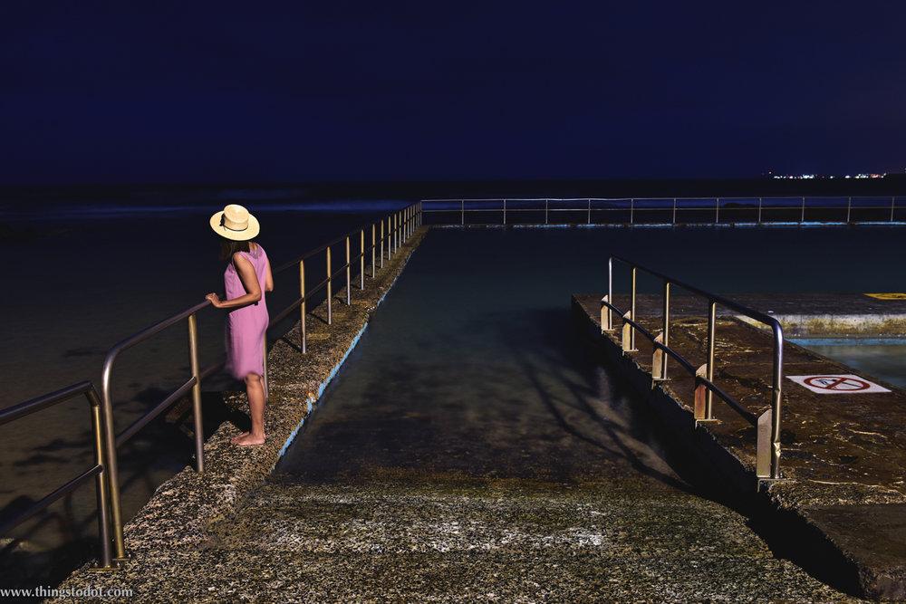 Towradgi Ocean (Rock) Pool,NSW, Australia. Photo: Brad Chilby (http://chilby.com.au). Image©www.thingstodot.com. Clothes:https://www.cream-clothing.com.