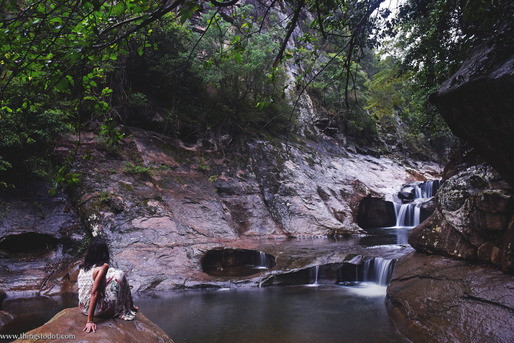 Jump Rock, Macquarie Pass,New South Wales, Australia. Photo: Brad Chilby (http://chilby.com.au). Image©www.thingstodot.com. Clothing:https://www.cream-clothing.com.