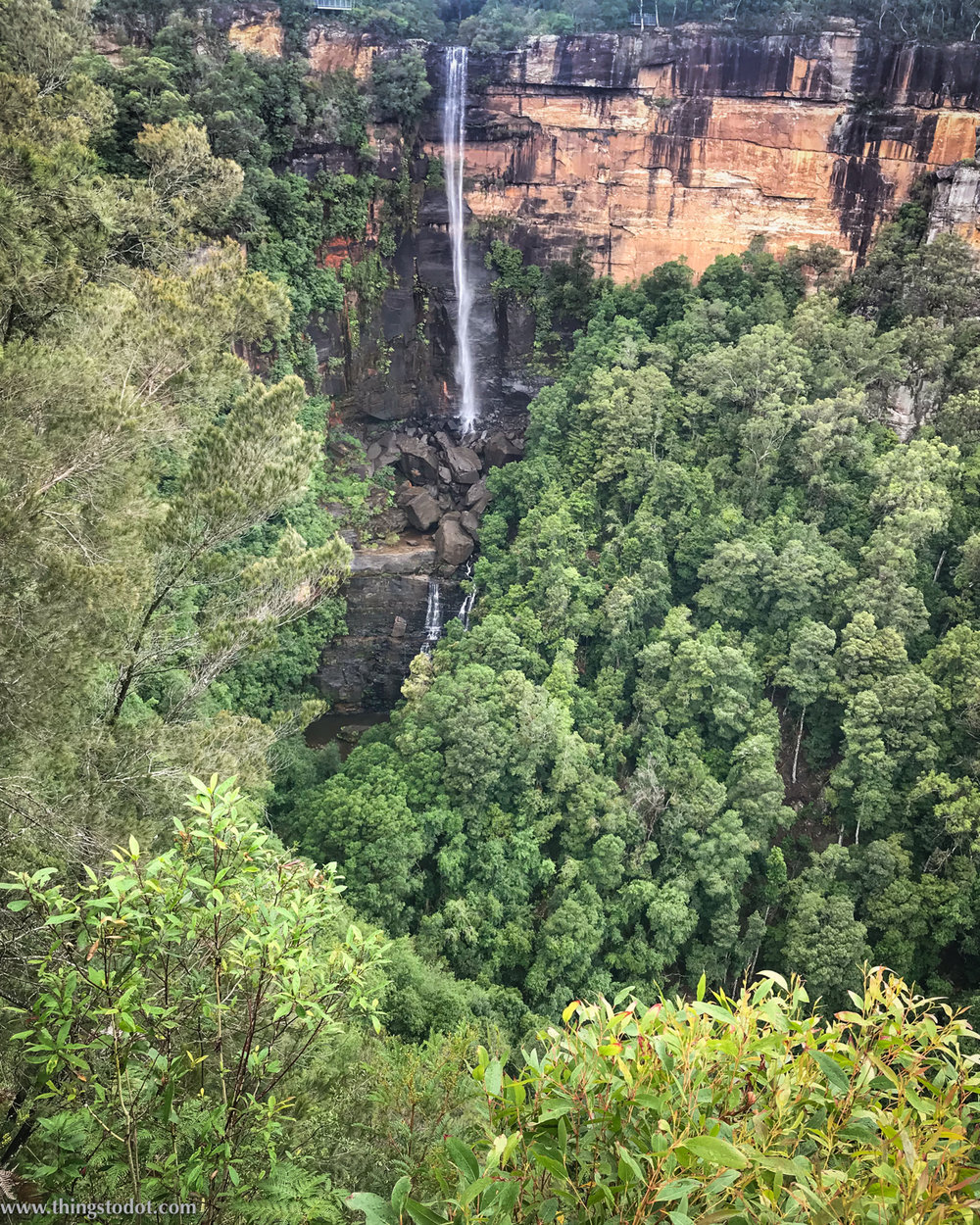 Twin Falls Lookout, Fitzroy Falls, Southern Highlands, NSW, Australia. Photo:Gunjan Virk. Image©www.thingstodot.com.