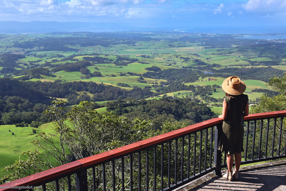Saddleback Mountain Lookout, New South Wales, Australia. Photo: Brad Chilby (http://chilby.com.au). Image©www.thingstodot.com.