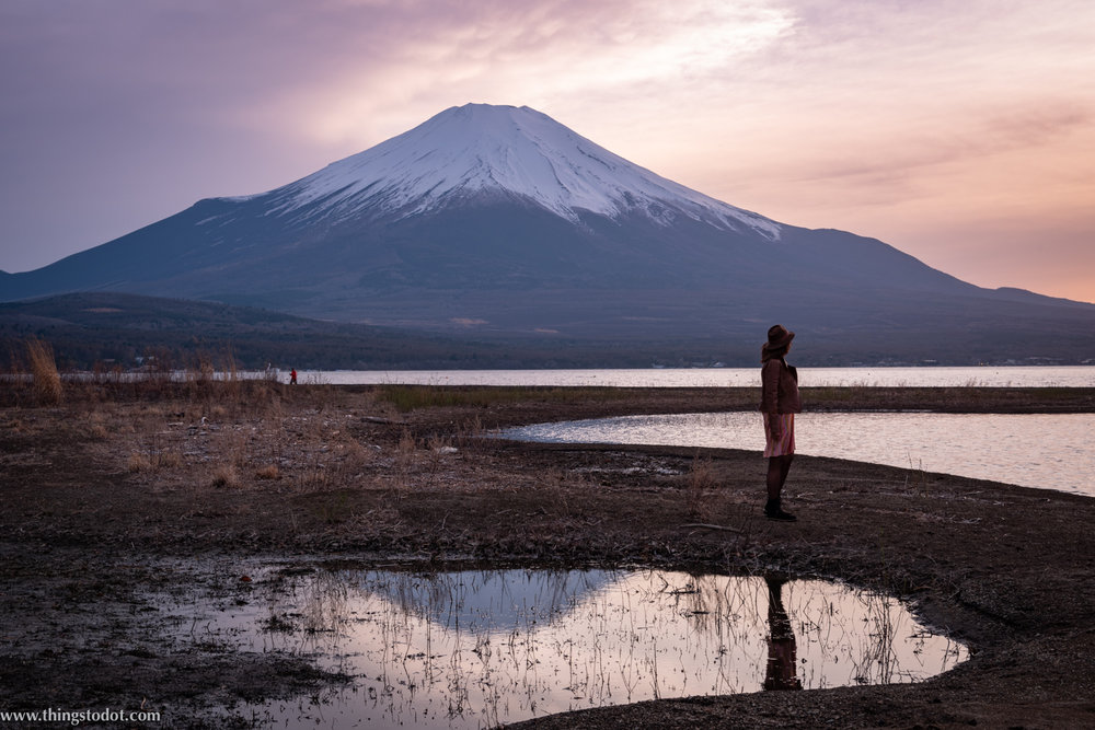 Lake Yamanakako, Fuji, Japan. Photo: Yuga Kurita. Image©www.thingstodot.com.