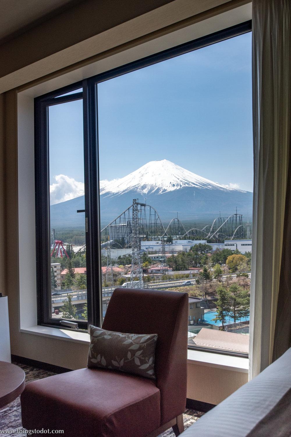 HOTEL MYSTAYS Fuji Onsen Resort, Fuji, Japan. Photo: Gunjan Virk.Image©www.thingstodot.com.