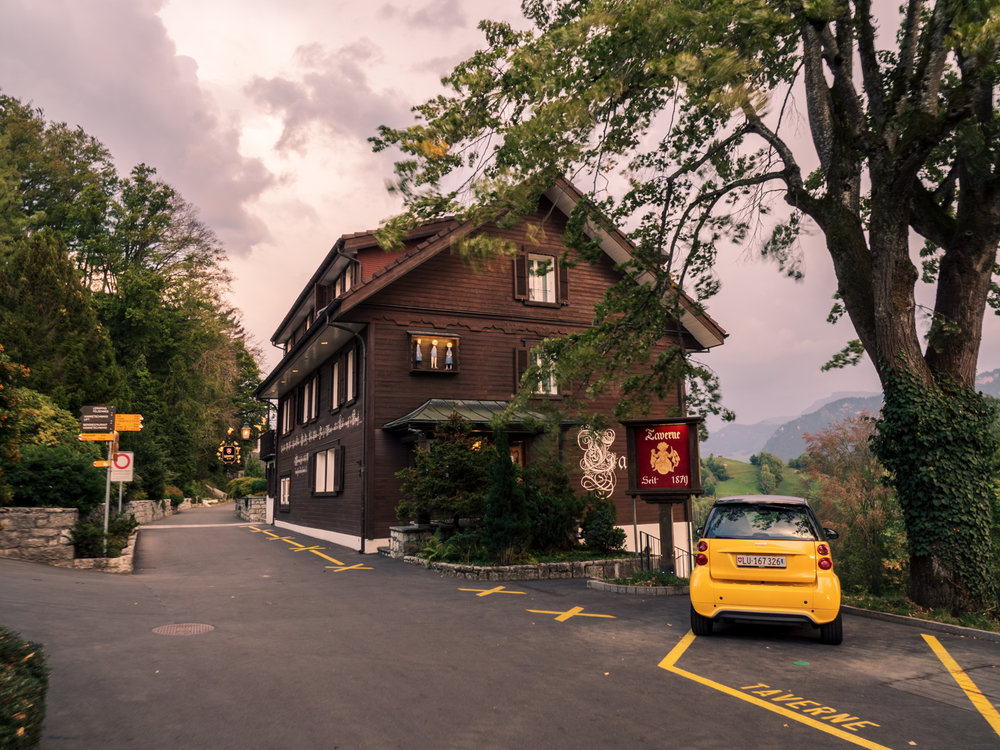 Taverne 1879, Buergenstock Resort, Switzerland. Photo: Gunjan Virk.