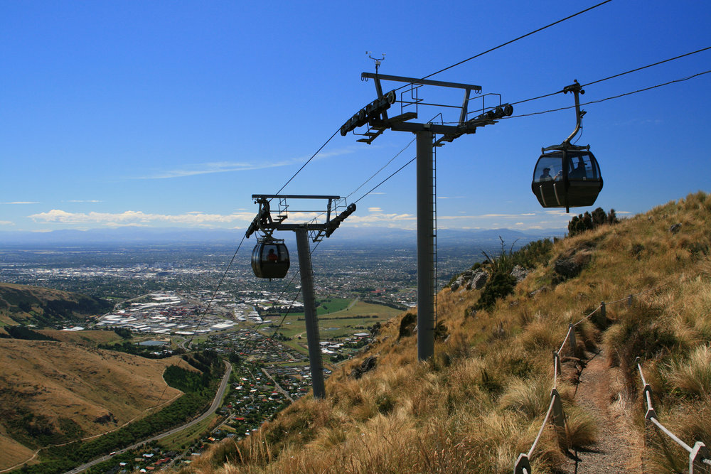 Christchurch Gondola, New Zealand. Photo: serge_t, Adobe Stock.