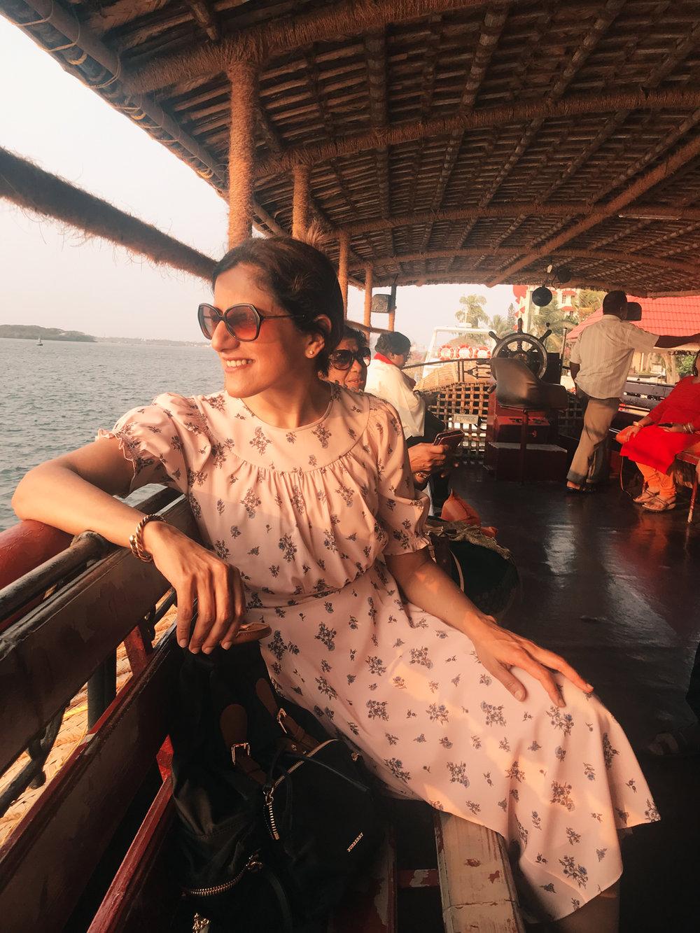 Taj Malabar Resort & Spa, Kochi, Kerala. Backwater Cruise. Photo©www.thingstodot.com.