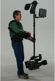 Jerry Holway with Steadicam Ultra