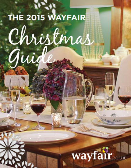 Wayfair UK 2015 Christmas lookbook
