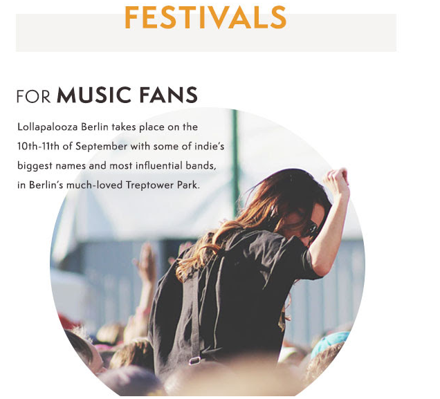 Timberland sunglasses and festivals newsletter from summer 2016