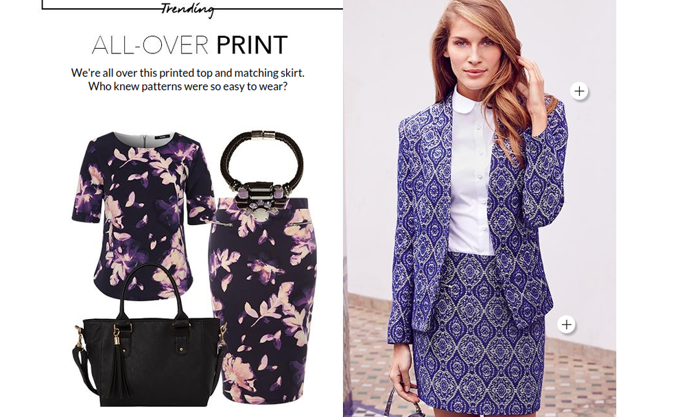 George ASDA women's print trend ideas