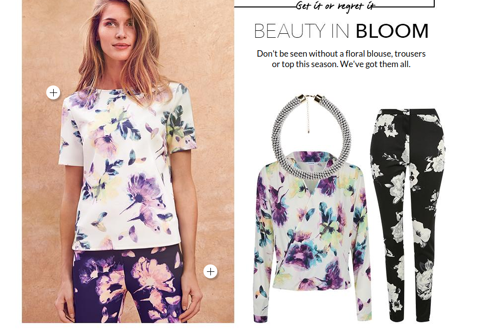 George ASDA Women's floral-print fashion advice written by Elliott Sainsbury