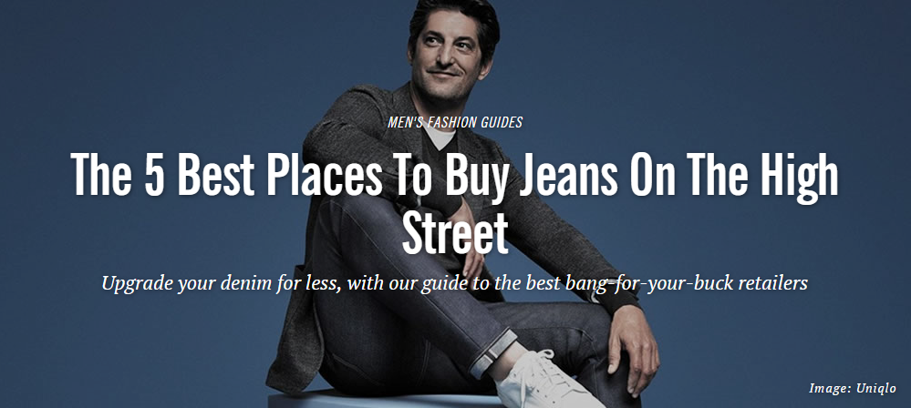 Fashionbeans: Where to Buy Jeans
