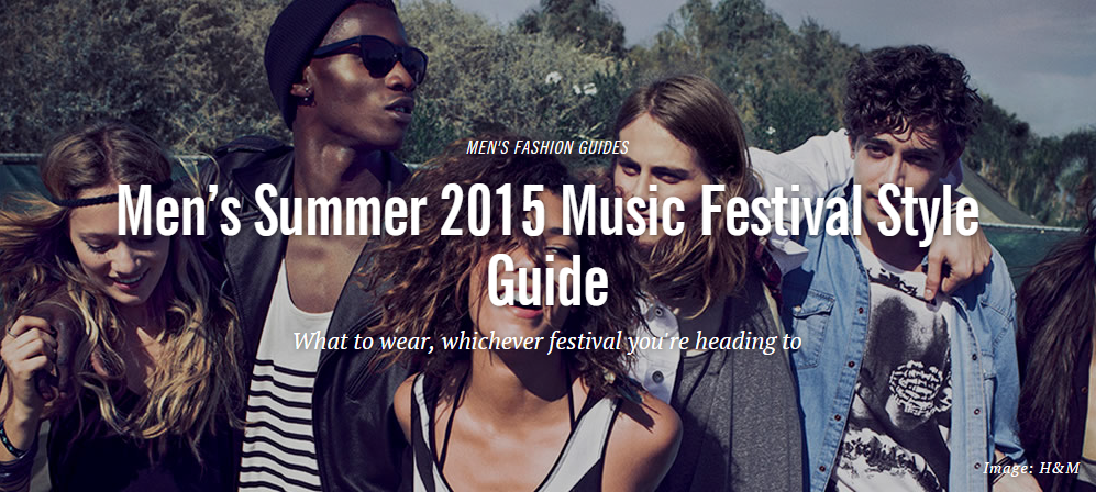 Fashionbeans: Summer '15 Festival Guide