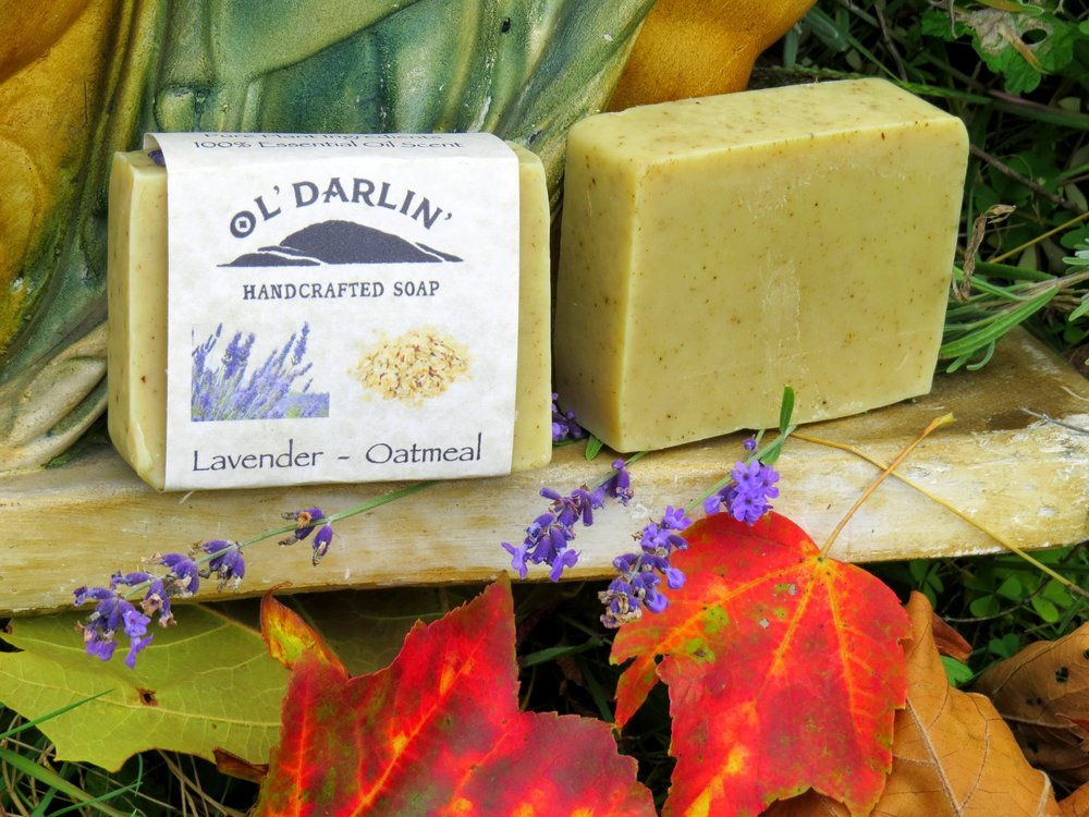 Lavender - Oatmeal Soap.JPG