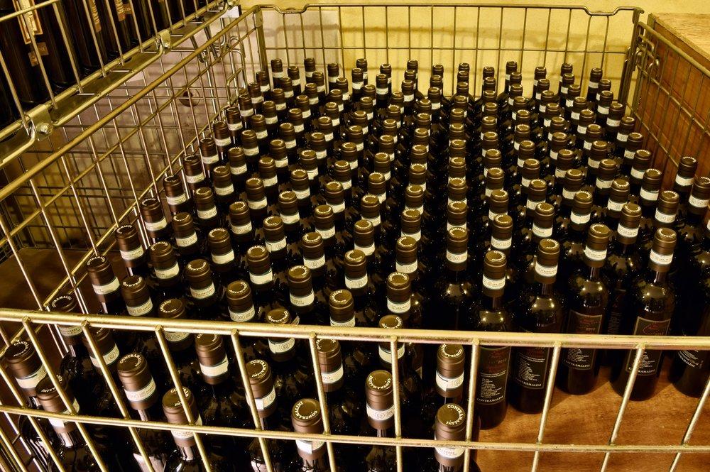 L'affinamento in bottiglia