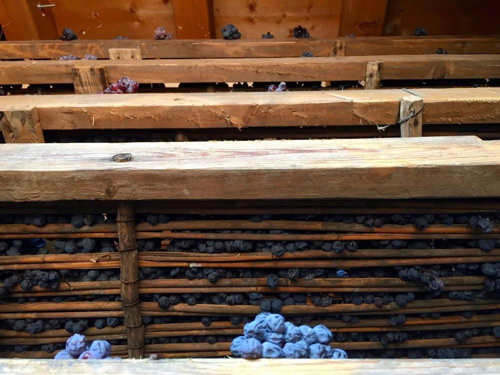 Le arele sovrapposte del fruttaio