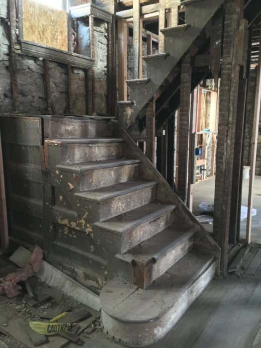 Before: Stairs