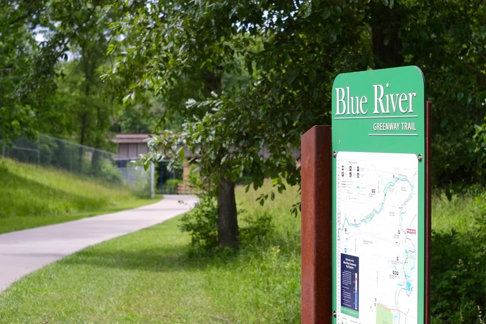 Blue River section of trail