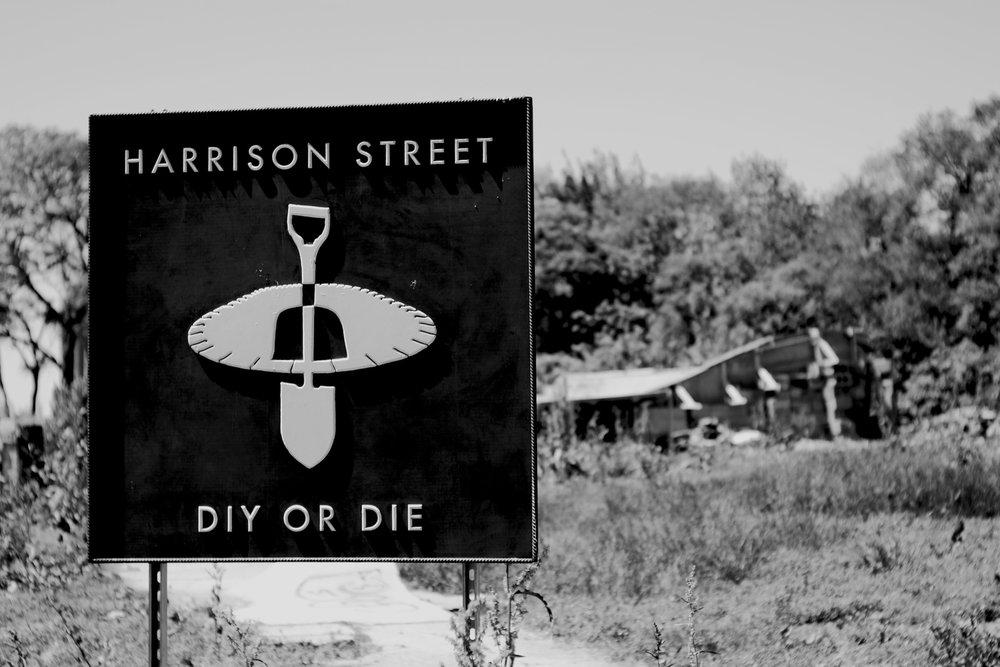 Harrison Street DIY Skate Park - DIY OR DIE