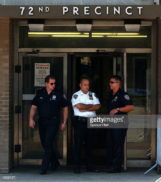NYPD Officers at the 72nd Precinct