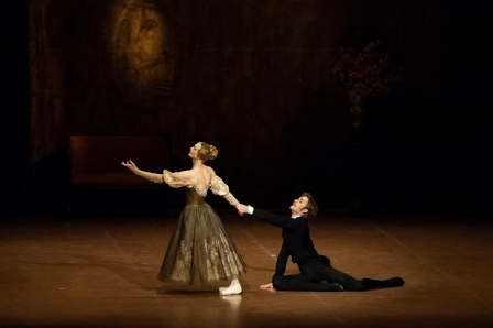 Friedemann Vogel and Alicia Amatriain in the Act III pas de deux
