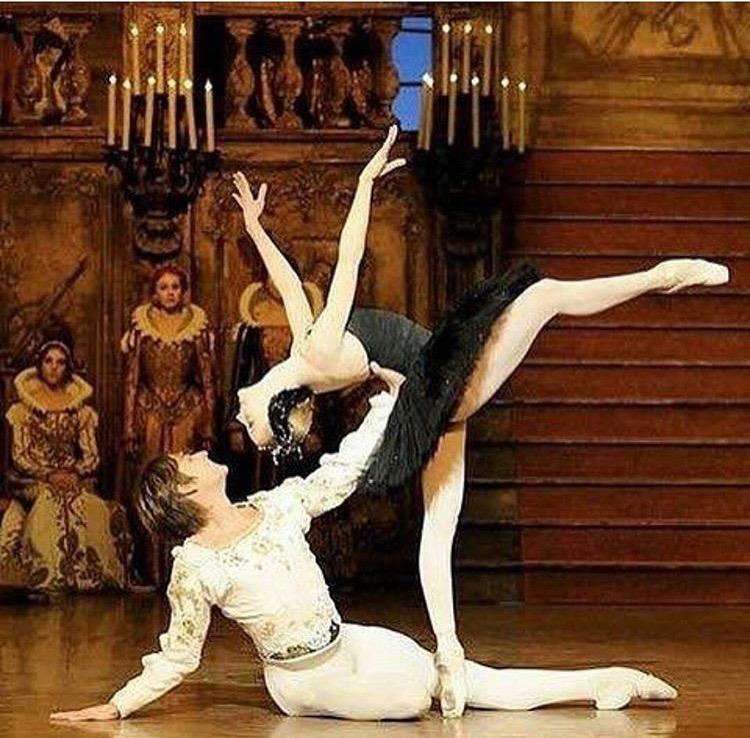 Prince Siegfried with Odile