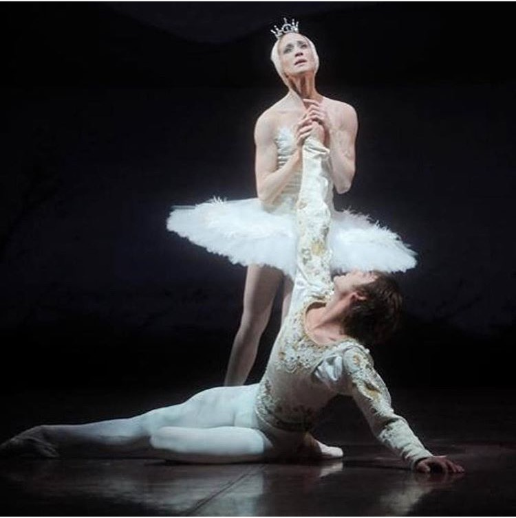 Prince Siegfried with Odette