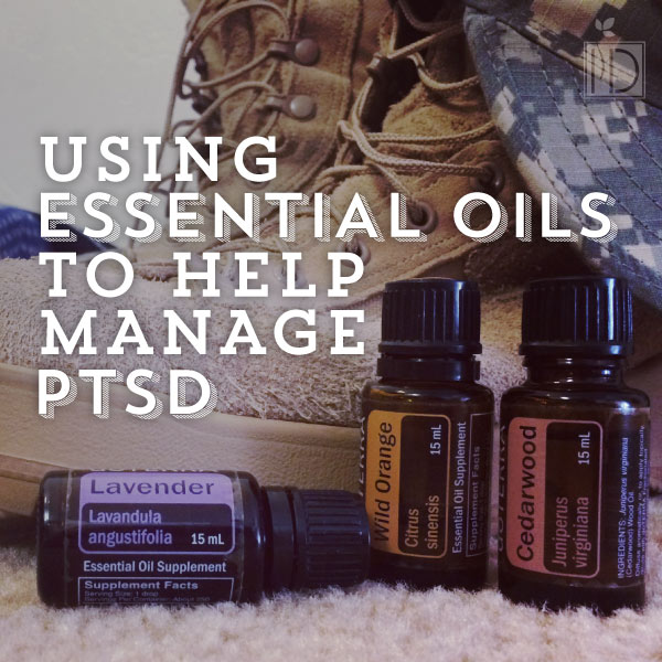essential oils ptsd pin