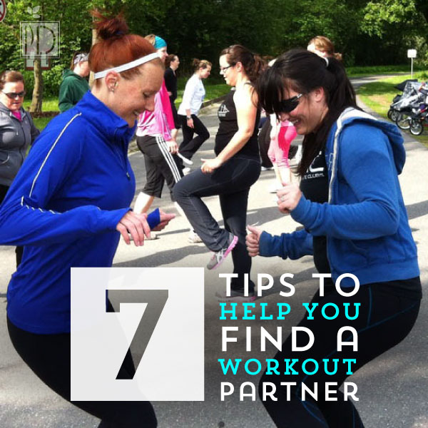 Seven tips to help you find a workout partner
