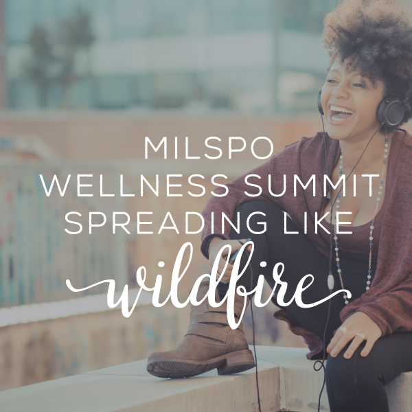 Sign up for the Military Spouse Wellness Summit
