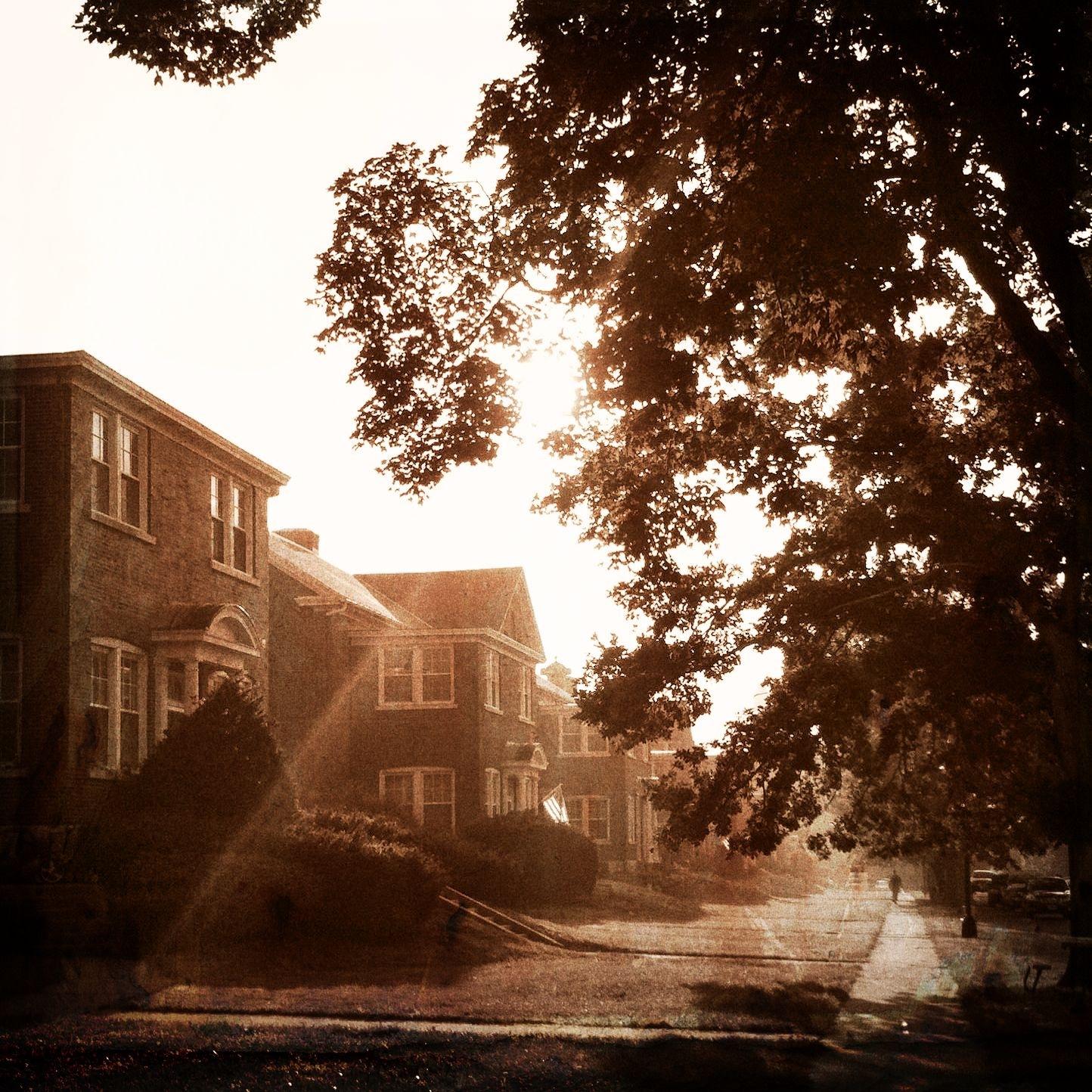 thankfulness: walk to work