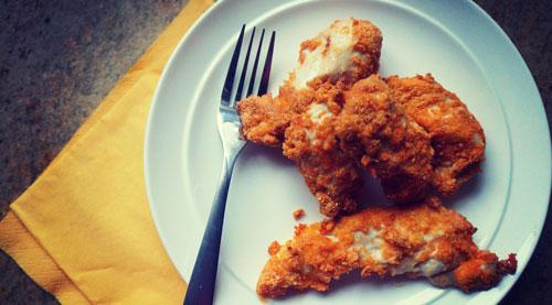 Almond Flour Chicken Fingers