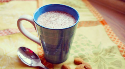 Warm Ginger Almond Milk