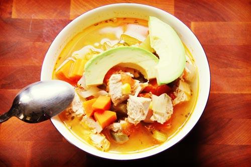 avacado soup