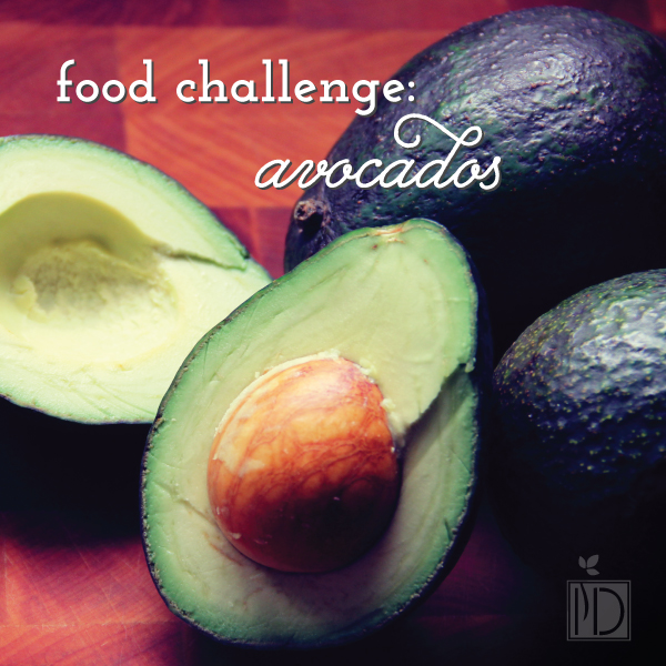 Food Challenge: Avocadoes