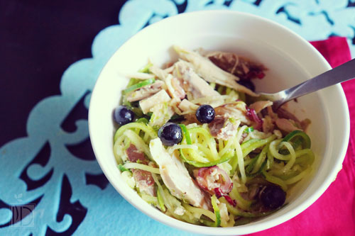 Chicken Blueberry Pasta Salad