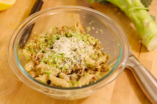 Rigatoni with Broccoli and Sausage