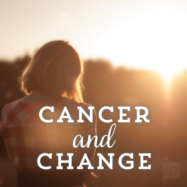 Living with cancer and dealing with change.  One military spouse's account Papillary Renal Cell Carcinoma.