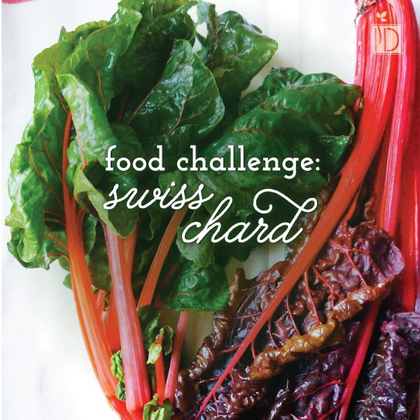 Food challenge: Swiss Chard