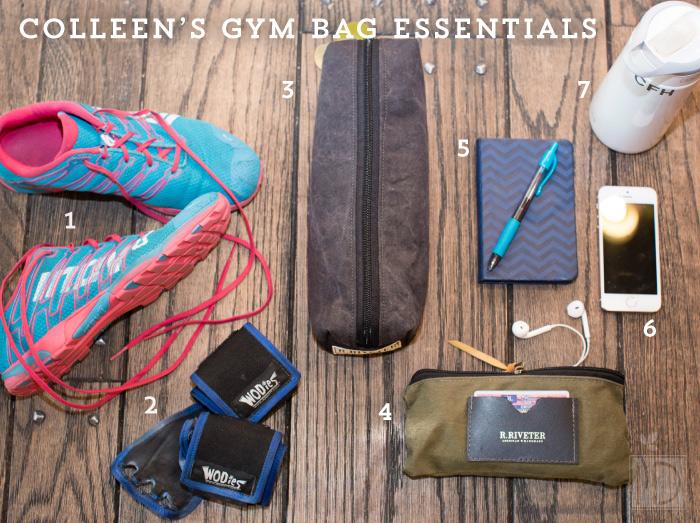 colleen Gym Bag Essentials