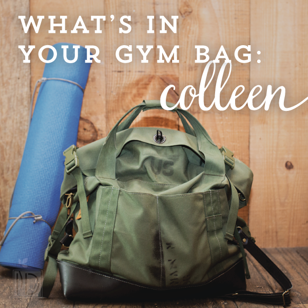 R. Riveter's Colleen gives a sneak peak into her CrossFit gym bag