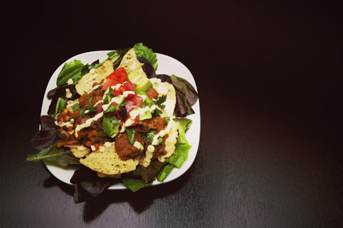 Healthy Nachos with Cashew Cheese