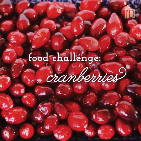 Food Challenge:  Cranberries