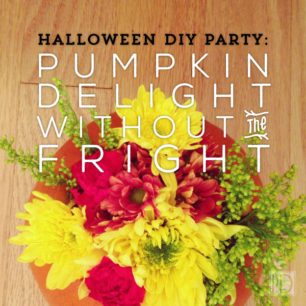 Halloween DIY Party: Pumpkin Delight without the Fright - If you're looking for a fun party idea between now and Thanksgiving, we've got you covered. This DIY party idea can be adapted for a large FRG function or a small gathering with friends. Either way, it's the perfect excuse to surround yourself with people when you're missing home or enduring a field rotation or deployment.