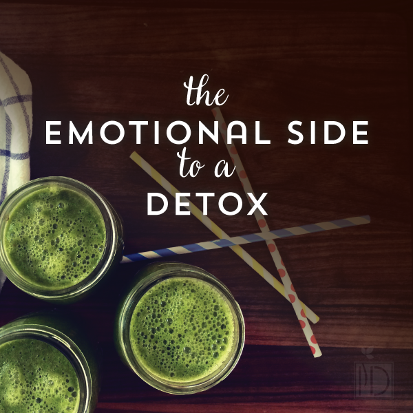 the emotional side of detox