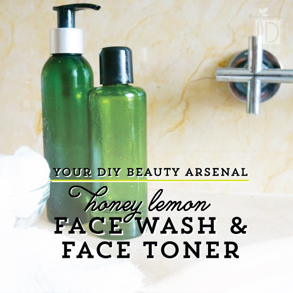 Lemon Honey Skin Wash and Facial Toner : DIY Beauty Arsenal